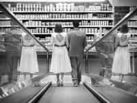 After Wedding-Shooting im Supermarkt