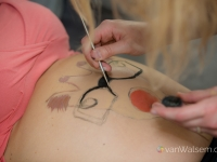 Babybauch Shooting inkl. Bellypainting