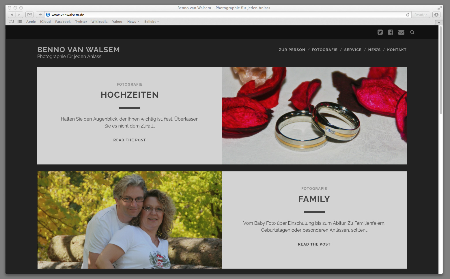 News - Neue Website