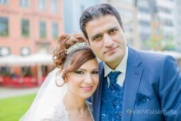 Hochzeitsfotografie in der Kölner Altstadt
