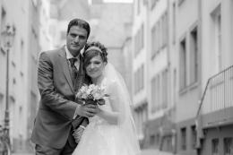 Hochzeitsfotografie in den Gassen von Köln