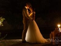 Romantischer Augenblick