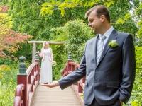 Hochzeitsfoto im Japanischen Garten Leverkusen