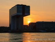 Kranhaus am Rhein
