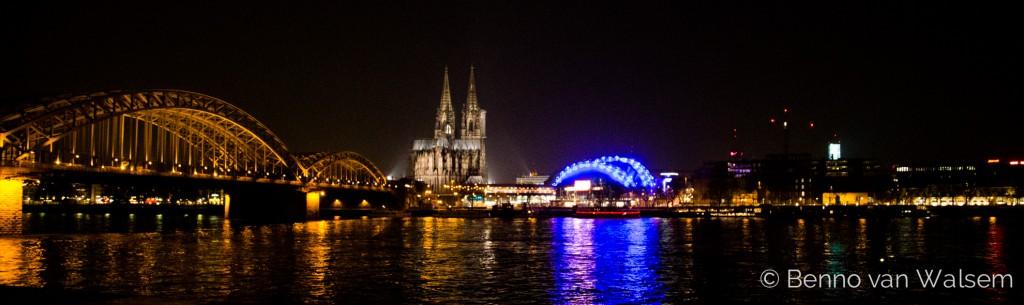 Der Kölner Dom, Hohenzollern Brücke und der Musical Dom
